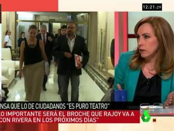 """Angélica Rubio: """"La sensación es que el PP gana y Ciudadanos no hace más que ceder"""""""