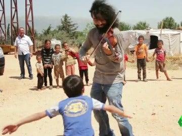 El violinista Ara Malikian destinará el dinero de sus conciertos para ayudar a los refugiados sirios