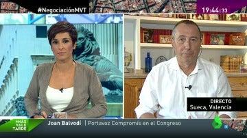"""Joan Baldoví: """"Ciudadanos se ha saltado tantas veces sus líneas rojas que es probable que lo vuelva a hacer"""""""