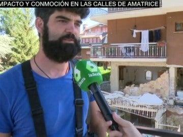 """Impacto y conmoción en las calles de Amatrice: """"Parece que la ciudad ha sido bombardeada"""""""