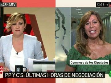 """Alicia Sánchez-Camacho: """"Sigo siendo optimista, estoy convencida de que vamos a llegar a ese acuerdo"""""""