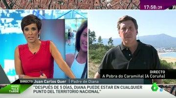 """Juan Carlos Quer, padre de Diana: """"Puede estar en cualquier punto de España sin poder contactarnos"""""""