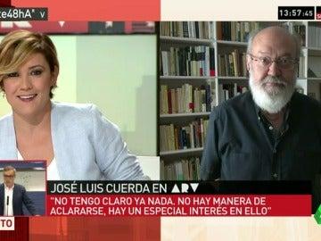 """José Luis Cuerda: """"Lo mejor sería un gobierno que no fuera en absoluto de Rajoy; debería estar inhabilitado"""""""