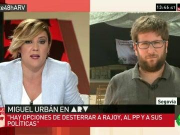 """Miguel Urbán: """"Ciudadanos ha demostrado que tiene unos principios, pero si no le gustan al PP, tiene otros"""""""