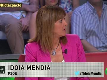"""Idoia Mendia: """"Nosotros tuvimos un momento para formar Gobierno y Pablo Iglesias reventó esa posibilidad"""""""