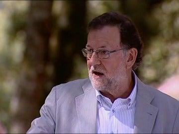 """Rajoy: """"Si el PSOE vota 'no', estaremos en la misma situación que en diciembre del año pasado"""""""