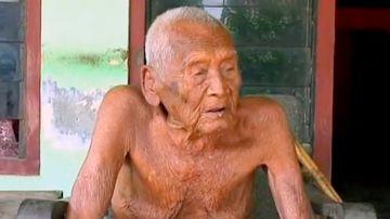 Mbah Gotho, el hombre más viejo del mundo