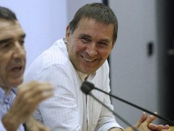 Otegi inicia la precampaña como candidato a lehendakari pese a su inhabilitación desde la Junta Electoral