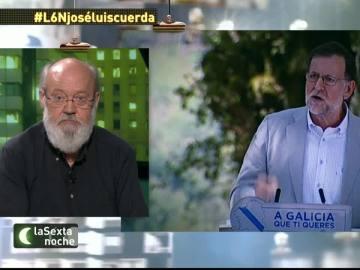"""Cuerda: """"Rajoy es extraordinario, el 'trotecillo' que tiene es una estupidez como la copa de un pino y no sabe hablar"""""""