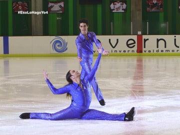 Juan Carlos se atreve con el patinaje sobre hielo, su carrera frustrada