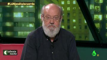 """José Luis Cuerda: """"¿Cómo se va a ser del sistema si es el que fabrica pobres y mata inmigrantes? Es asesino"""""""
