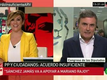 """Pedro Saura: """"Pedro Sánchez jamás apoyará a Rajoy"""""""