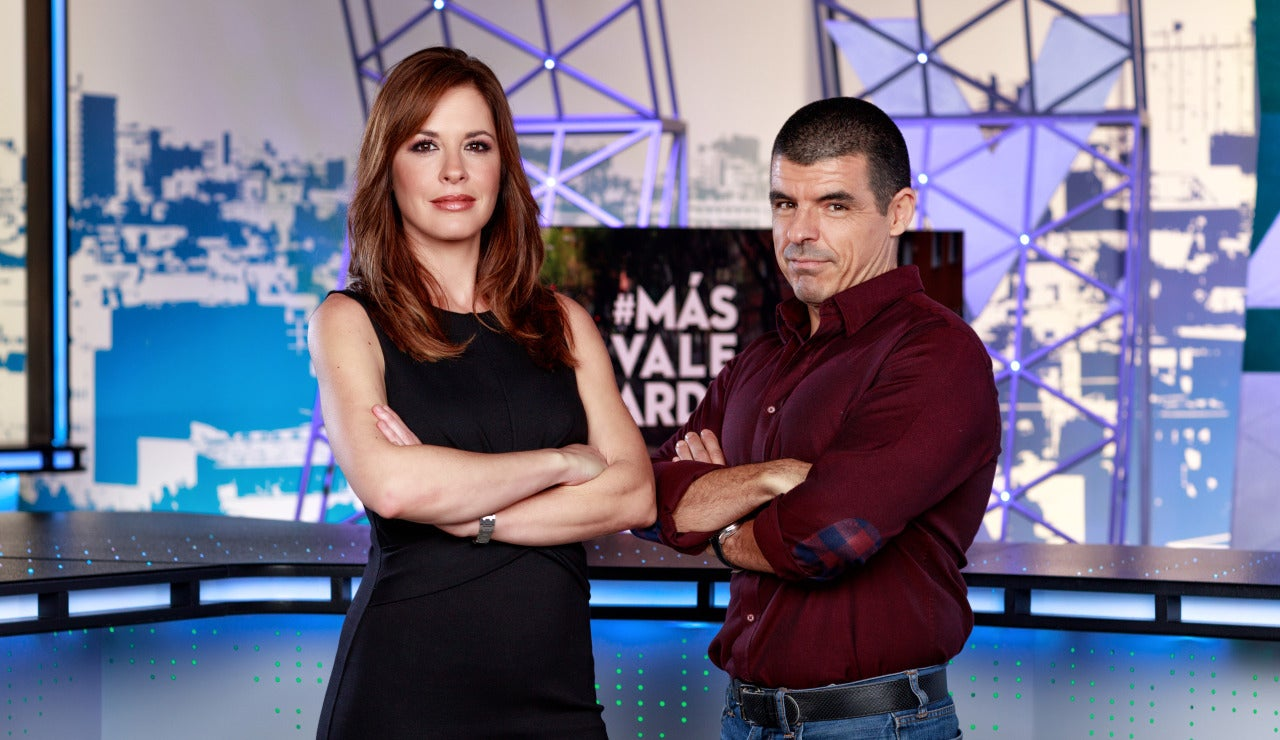 Mamen Mendizábal y Manu Marlasca, al frente de Más Vale Tarde