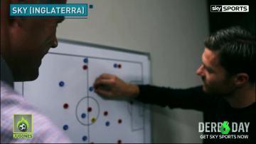 Xabi Alonso analiza los estilos de Pep y Mou