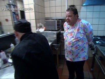 """El zasca de Chicote a Julián en mitad del servicio: """"Muy listo, muy listo no soy, pero muy tonto, muy tonto tampoco"""""""