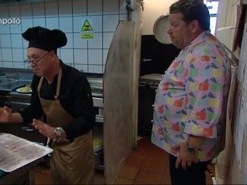 """La desesperación de Chicote con el jefe de cocina: """"¡Vamos Julián, saca los putos huevos ya!"""""""