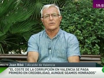 """Joan Ribó: """"El coste de la corrupción es de credibilidad de la ciudad de Valencia, aunque seamos honrados"""""""