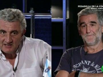 """Los """"dependes"""" de los gallegos contra la dificultad de ligar de los vascos, el debate de altura entre Romay e Iturriaga"""