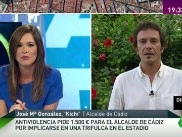 """'Kichi': """"No culpo a la Policía por el incidente, es el PP quien controla las instituciones para atacar a sus adversarios"""""""