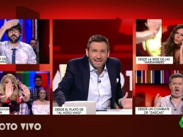 "Al Voto Vivo conecta con Cristina Pedroche desde una sede de  'Marianibers': ""Son imparables"""