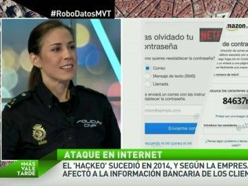"""Silvia Barrera: """"Hay que tener contraseñas seguras con unos diez dígitos y caracteres especiales y alfanuméricos"""""""