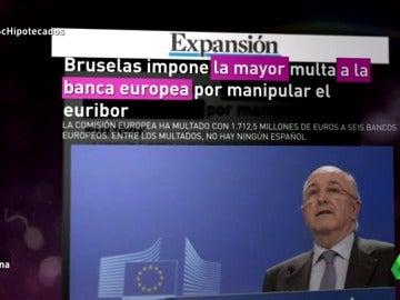 El nuevo Euríbor, la clave de la Comisión de Competencia contra la manipulación de las empresas
