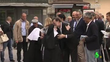 Los gritos de emoción de un grupo de monjas al ver a Mariano Rajoy