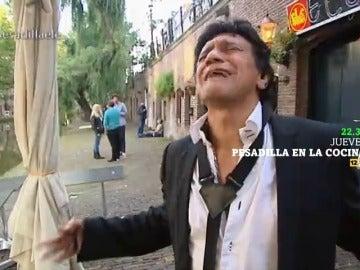 """Alberto Chicote tira a los canales la guitarra del dueño del restaurante: """"A tomar por culo"""""""