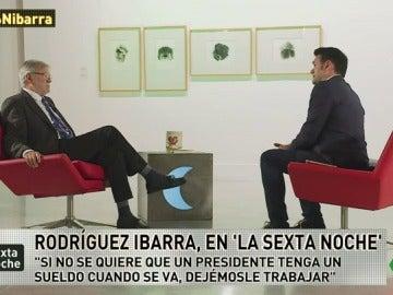 """Rodríguez Ibarra: """"No veo escandaloso que Soria vaya al Banco Mundial, sí que el Gobierno nos tome por idiotas"""""""