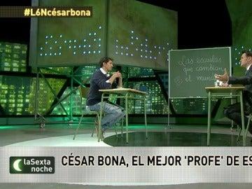 """César Bona: """"Las asignaturas son productos envasados. Hay que romperlos, mezclarlos y lo que sale es la vida"""""""