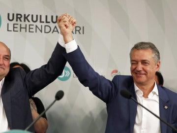 Urkullu y Andoni Ortuzar