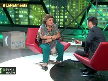 """Cristina Almeida: """"Me parece un pitorreo tener que acudir a nuevas elecciones"""""""