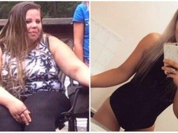 Natalie antes y después