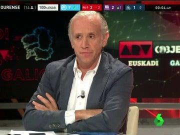 """Eduardo Inda: """"Si Pedro Sánchez no tiene los días contados, es el PSOE el que los tiene"""""""