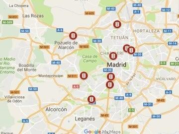 Semáforos Madrid