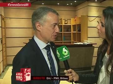 """Iñigo Urkullu: """"Todavía tenemos que reflexionar y hablar con todas las formaciones políticas"""""""