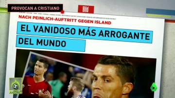 La prensa alemana se ceba con Cristiano