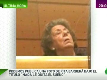 """""""A Rita nada le quita el sueño"""", una senadora de Podemos ilustra la vuelta de Barberá al Senado"""