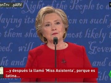 Hillary Clinton hace efectiva la venganza de Alicia Machado, una modelo a la que Trump llamó 'cerdita'