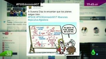 """Del movimiento #YoconPedro al """"paso hacia un lado"""": las redes sociales, divididas ante la situación del PSOE"""