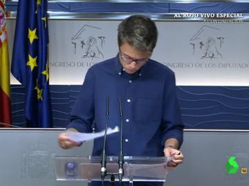 ¿Habrá tiempo para que haya un gobierno alternativo con Podemos? Íñigo Errejón no lo tiene muy claro...