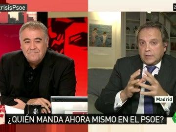 """Carmona: """"Hay que formar una gestora para devolver el partido a los militantes. Luena no ha dicho la verdad"""""""