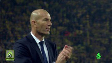 El sufrimiento de Zidane