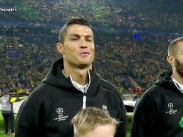 Cristiano Ronaldo volvió a su mejor versión ante el Borussia Dortmund