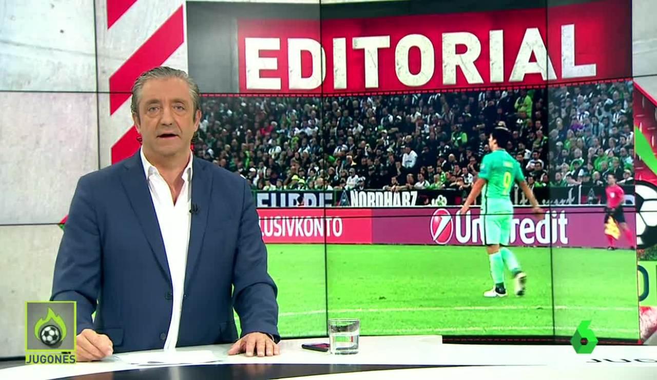 """""""Querido Piqué. Habla con Suárez y dile que aprenda a comportarse"""""""