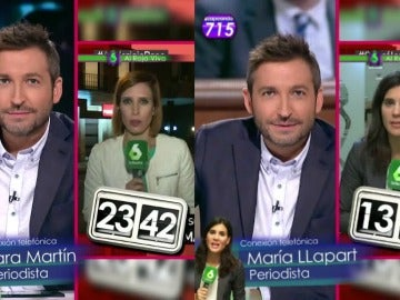 Así vivieron Sara Martín y María Llapart la dimisión en bloque de la Ejecutiva Federal del PSOE