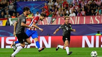 Carrasco tumbó a un Bayern agresivo
