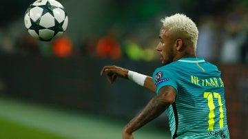 El Borussia Park la tomó con Neymar