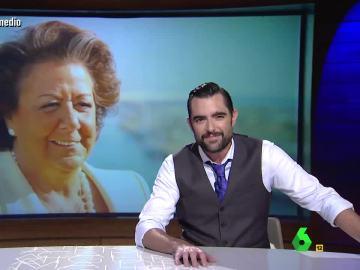 """Dani Mateo: """"Puede que Rita Barberá tenga que declarar ante el juez, pero así tiene con quién hablar"""""""