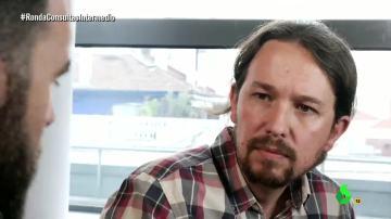 """Pablo Iglesias: """"Si nosotros tratamos de ocupar el espacio del PSOE nos vamos a equivocar"""""""